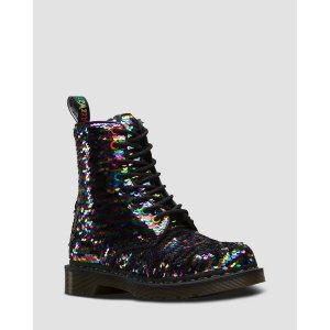 Dr. Martens1460 彩虹偏光靴