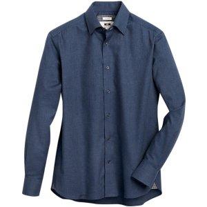 Joseph AbboudNavy Modern Fit Sport Shirt - Men's Shirts | Men's Wearhouse