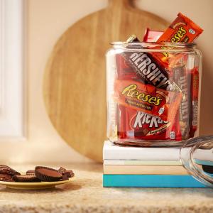 30条$13.99 一条仅$0.47HERSHEY'S 巧克力综合包装 Reese's+HERSHEY'S+KitKat