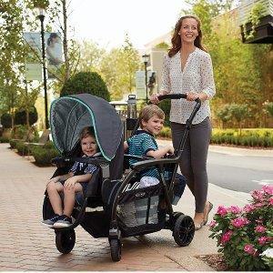 $167.99(原价$349.99) + 包邮史低价:Graco Modes Duo 双人童车 从婴儿到大童都适用