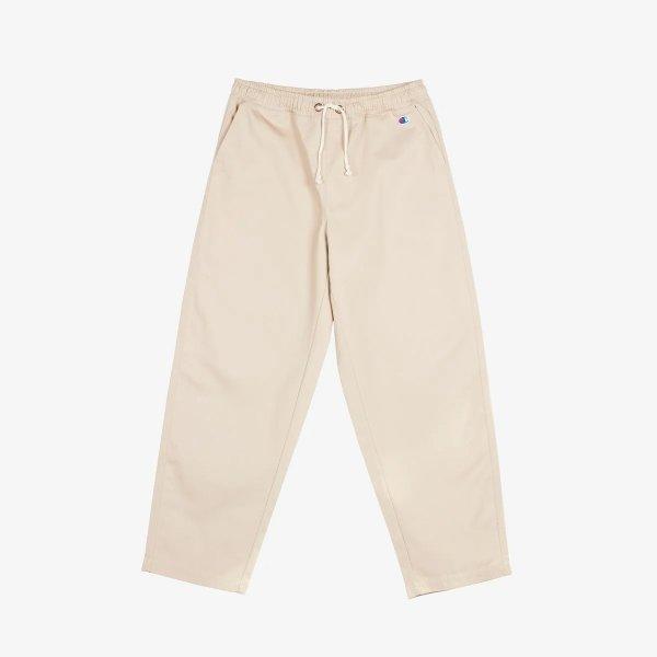 米色休闲裤
