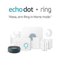 Ring 安防套装 + echo dot