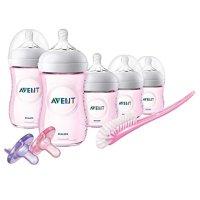 Philips Avent 防胀气婴幼儿奶瓶套装 粉色