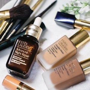 最高减$400+免税Estee Lauder 护肤美妆产品热卖 收小棕瓶