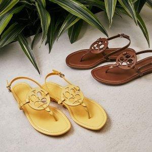 低至4折 凉爽人字拖$25COACH Outlet 夏季美鞋上新 Jeri凉鞋$40
