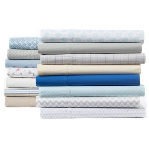 Extra 25% off + Star from $14.99The Big One Easy Care 275 Thread Count Sheet Set or Pillowcases @ kohl's
