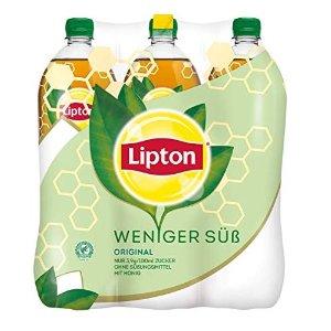Lipton蜂蜜冰红茶(6 x 1.25l)