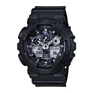 CasioG Shock Men's ' G-Shock Quartz Resin Fashion Watch, Color:Grey (Model: GA-100CF-8ACR