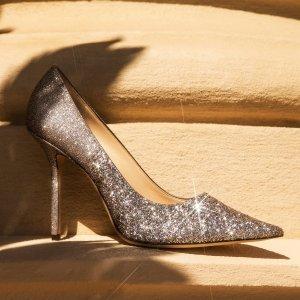 低至6.7折+额外8折最后一天:Jimmy Choo 鞋履 $388到手价收封面类似Love85高跟鞋