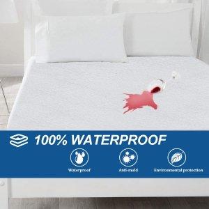 Extra 60% OffBonzy Home 100% Waterproof Mattress Protector, Queen