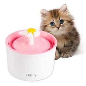 现价$30.99 (原价$39.99)可爱小雏菊宠物饮水机 让毛孩子爱上喝水