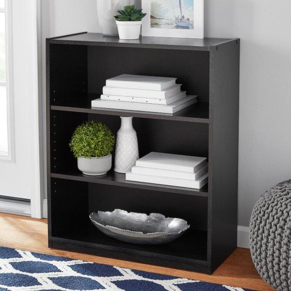 3层书柜 黑色