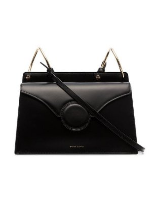 Danse Lente black Phoebe leather cross body bag $474 - Buy Online - Mobile Friendly, Fast Delivery, Price