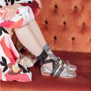 低至4折 收热门芭蕾舞鞋Miu Miu 甜美公主风美衣、美鞋、美包热卖