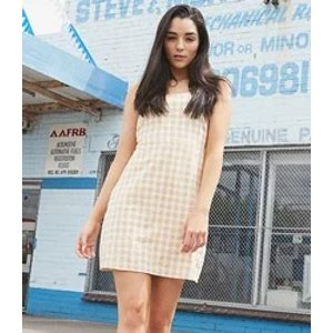 Checker Mini Dress