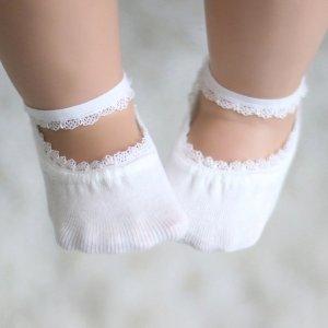 时尚花边隐形袜