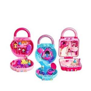 $6.49(原价$9.99)史低价:Shopkins Lil' Secrets 迷你娃娃屋,解锁后呈现豪华派对