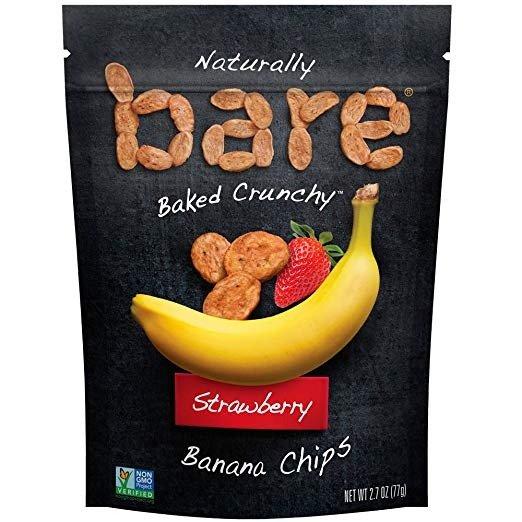 天然香蕉果干脆片 草莓口味 2.7oz. 6包