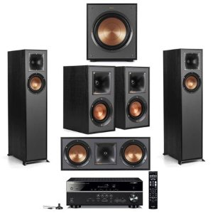 Starting from $879.99Klipsch Speakers + Yamaha Receiver Home Theatre bundle