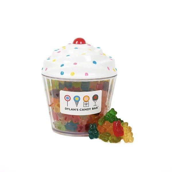 混合口味小熊软糖 cupcake造型礼盒