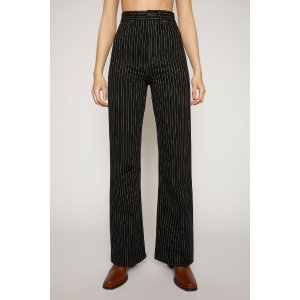 Acne Studios1990 Black Pinstripe Black