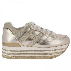 Hogan厚底休闲鞋