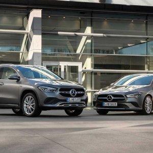 能加油能充电全新插电混动 Mercedes-Benz CLA/GLA