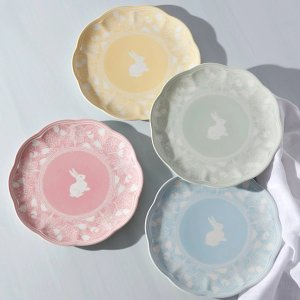 LenoxColors of Spring® 4-piece Accent Plate Set