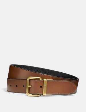 Wide Jeans Buckle Cut-To-Size Reversible Belt | COACH
