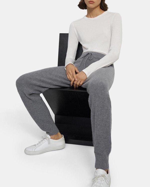 羊绒休闲裤