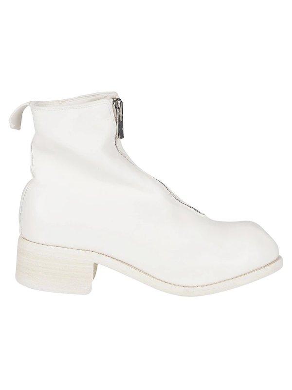 PL1 前拉链短靴
