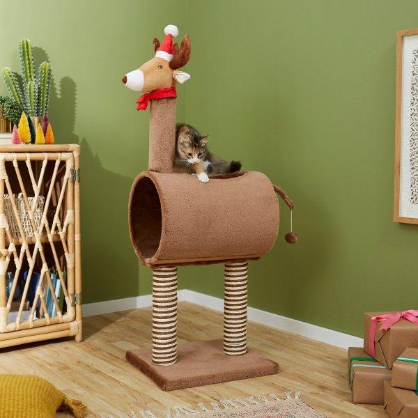 圣诞主题猫窝