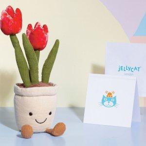 €15收小兔子Jellycat 新品上新 裹着围巾的小兔子 温暖你的手 萌化你的心