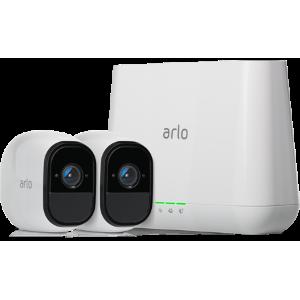 $239 (原价$319.99)Netgear Arlo Pro 室内外无线监控系统 2个摄像头 + 室外用支架