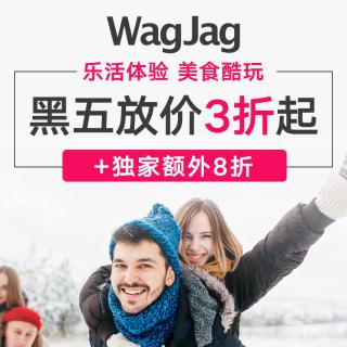 全场独家额外8折黑五价:Wagjag热促 $4.8定制个性日历 $10收汽车保护罩