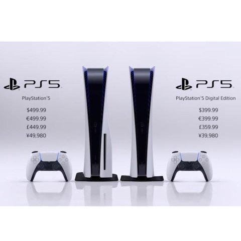 PS5 无光驱版 $399美元PS5 发布会全汇总,战神 最终幻想 哈利波特 公布新作