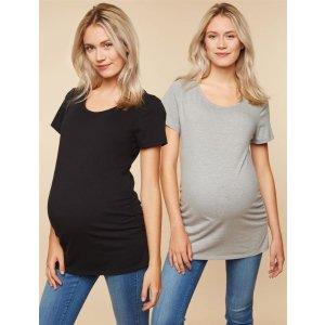 孕期T恤两件装