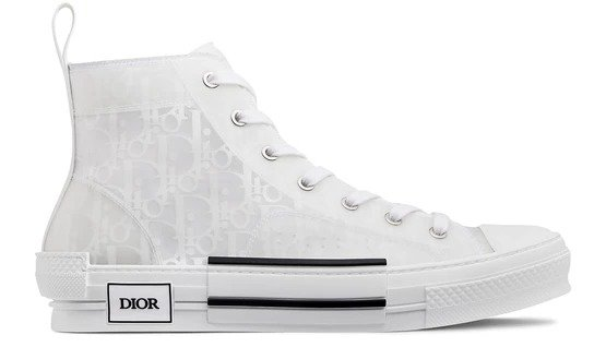 B23 Dior Oblique 高帮鞋
