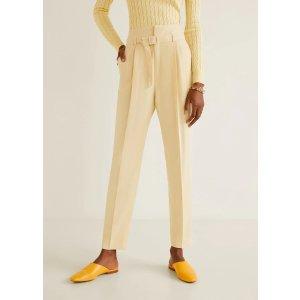 Mango西装裤