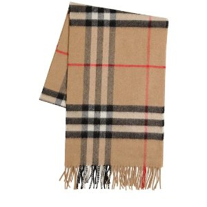 Burberry15% off with $500 PurchaseCLASSIC CHECK GIANT ICON WOOL SCARF