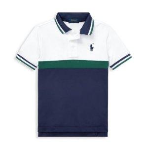 低至2.5折 封面RL大童码Polo衫仅$18.56Burberry, Moncler 等大牌儿童服饰上新+再降价 超多款有大码