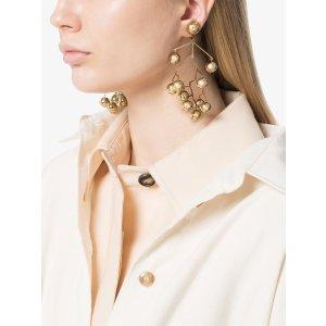 Jil Sanderbalance drop mobile earrings
