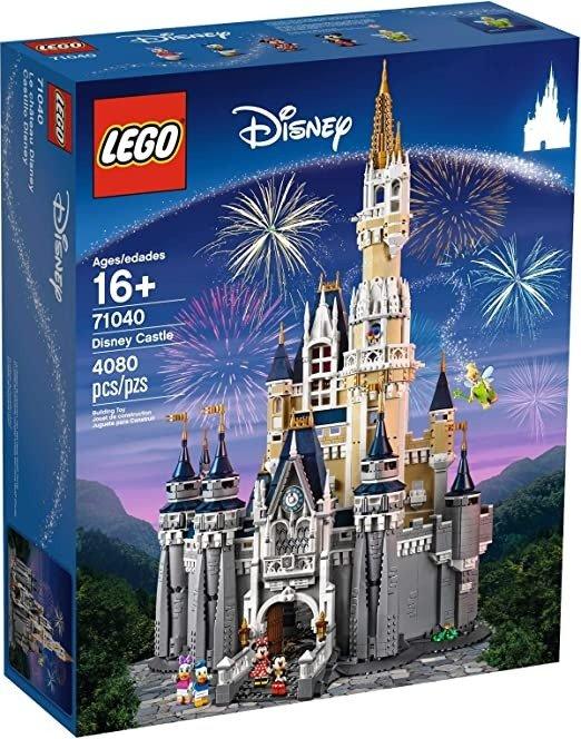 迪士尼城堡 71040