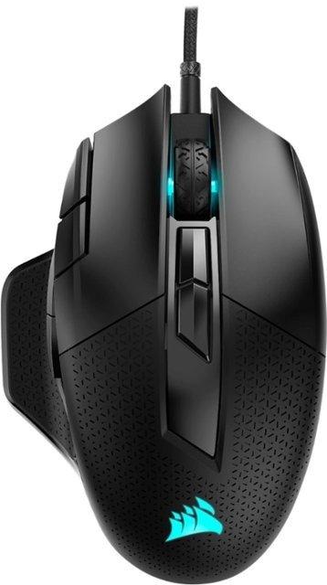 - NIGHTSWORD RGB FPS/MOBA Wired Optical Gaming Mouse - Black