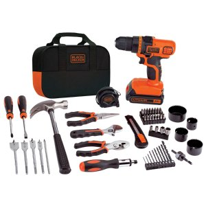 $59.97BLACK+DECKER 20-Volt Max 3/8-in Lithium Ion (Li-ion) Cordless Drill (1-Battery Included) @ Lowes