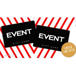 8折 $40入面值$50礼卡Event Cinemas 礼品卡限时热促