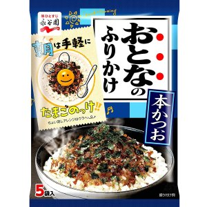 €2.55/包+免邮 开带即食NAGATANIEN永谷园 日式鲣鱼风味海苔芝麻拌饭料 方便营养
