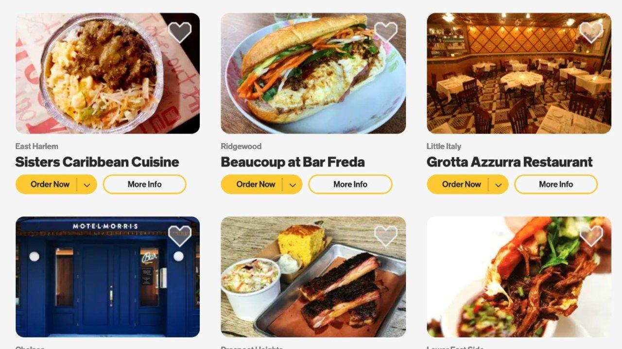 纽约餐厅周 $20 刀吃米其林外卖 用 Mastercard 结账再减 $10