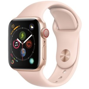 40mm  $349 44mm $379 直降$100Apple Watch Series 4 智能手表 GPS + 蜂窝网络