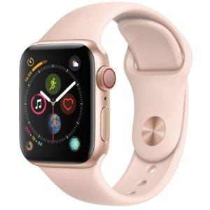 40mm  $349 44mm $379 直降$100Apple Watch Series 4 智能手表 GPS + 蜂窝网络
